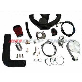 Kit turbo Ford - Zetec Rocan - Ká / Currier 1.0 sem Turbina