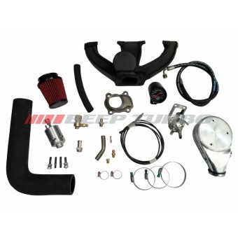 Kit turbo Ford - Zetec Rocan - Ká / Currier 1.6 sem Turbina