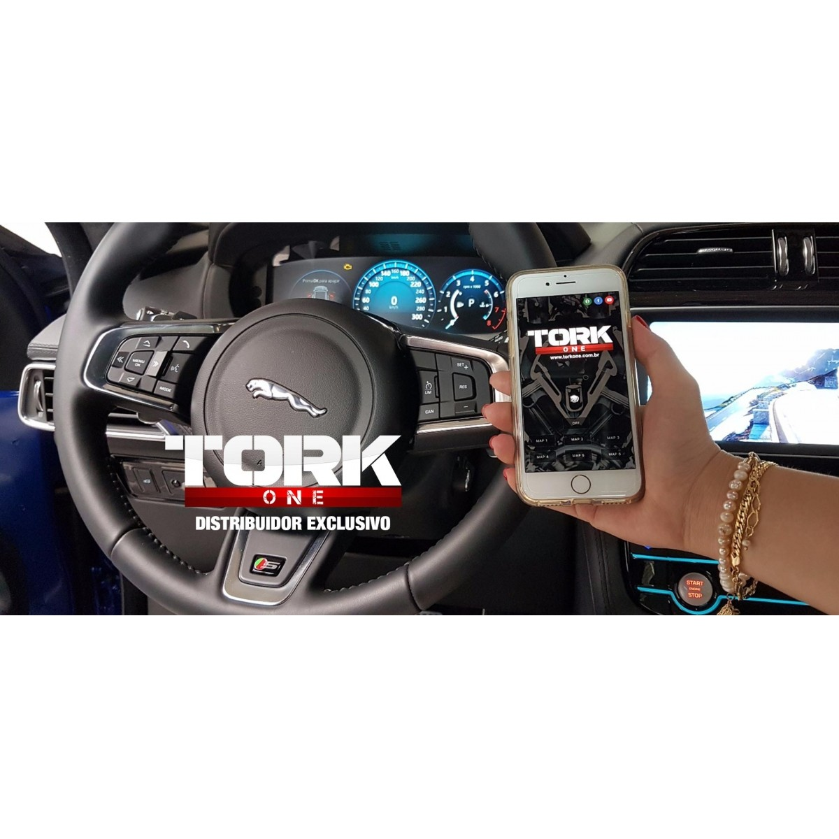 Gás Pedal - Land Rover - Tork One c/s Bluetooth