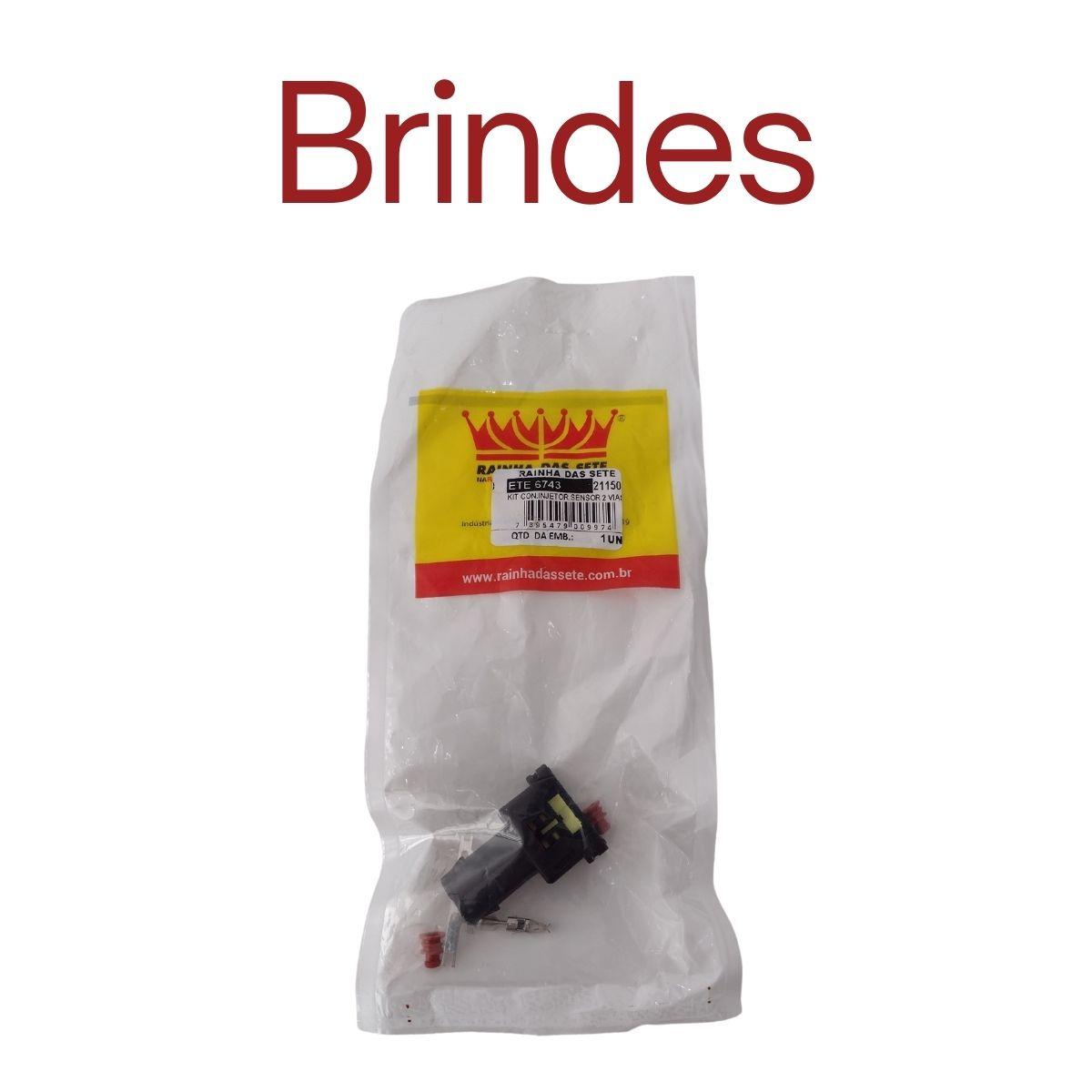 Bico Injetor 65lbs 0 280 156 453 Bosch + Conector + Brindes - Alta impedância
