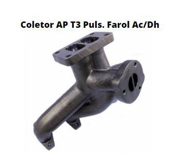 Coletor de Escape AP Ar/Dir Pulsativo Farol T3 - Auto Vionics