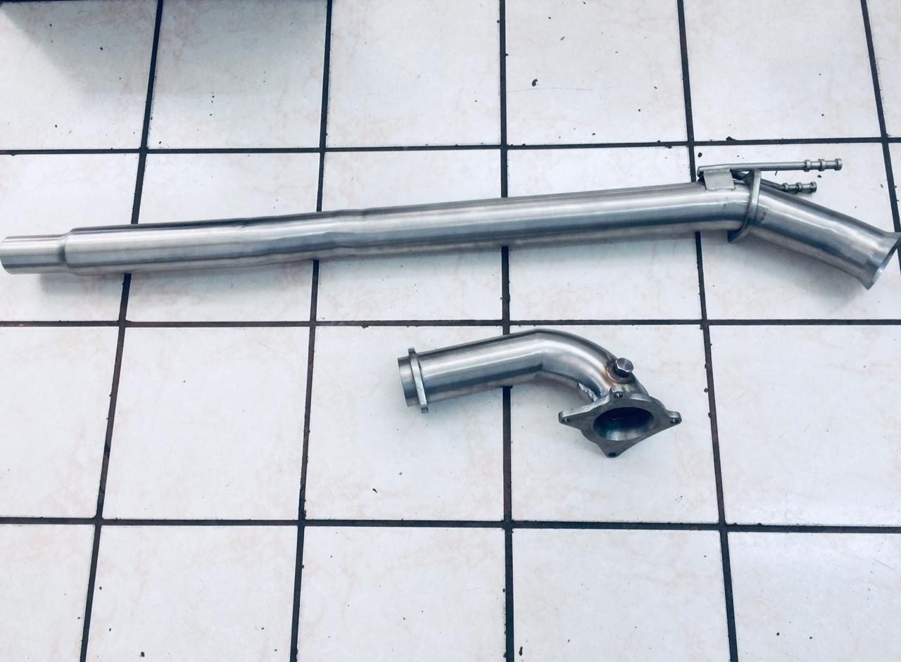 Downpipe Audi Sportback- Aço Inox