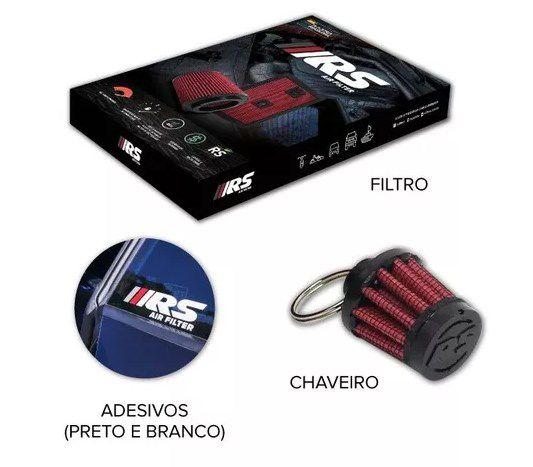 FILTRO DE AR ESPORTIVO IN BOX TRACKER + BRINDE