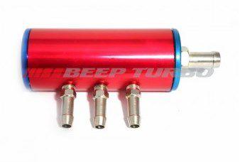 Flauta para Combustível c/ Filtro - Anodizada 200mm
