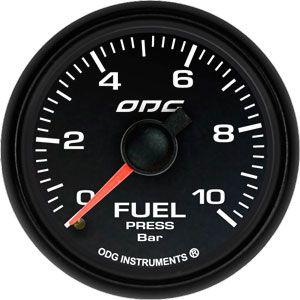 Manômetro Dakar Full Color Fuel 10 BAR 52 mm