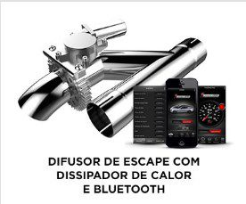 Difusor de Escape com Dissipador de Calor - SuperEdition
