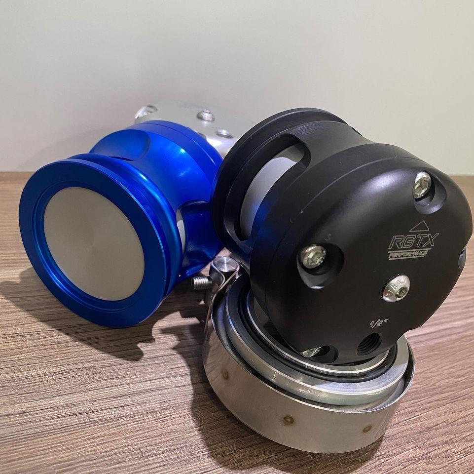 Válvula Prioridade Blow-off 50mm Aluminio - RGTX