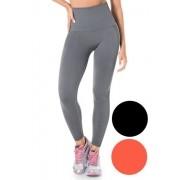 Calça Legging Alta Modeladora Fitness Sem Costura Leg Fit Caminhada Zee Rucci ZR0601-002