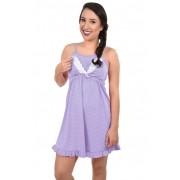 Camisola Alça Amamentação Lactante Mãe Maternidade Pós Parto Plus Size Ref: 306