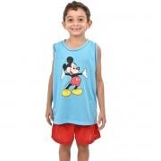 Pijama Regata Short Masculino Infantil Menino Mickey Ref: 327
