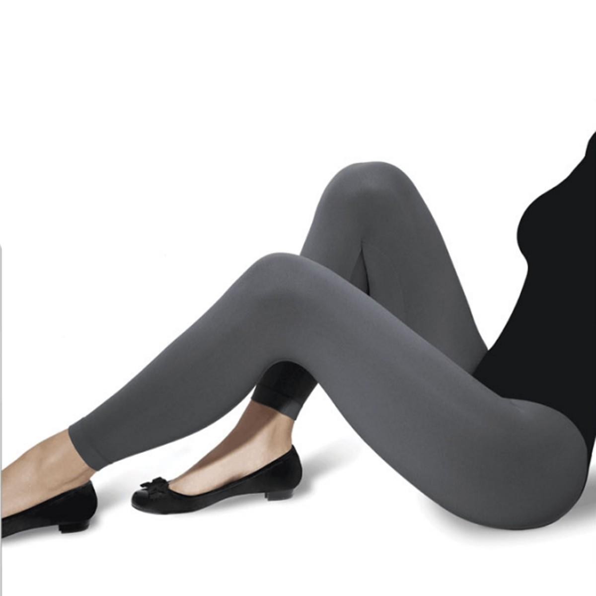 Calça Legging Sem Costura Fashion Dia a Dia Confortável Fio 150 Loba Lupo 41850