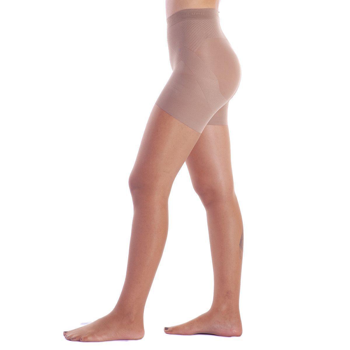 Meia Calça Modeladora Up Line Loba Reduz Barriga Culote Levanta Bumbum Fio 15 Lupo 5895
