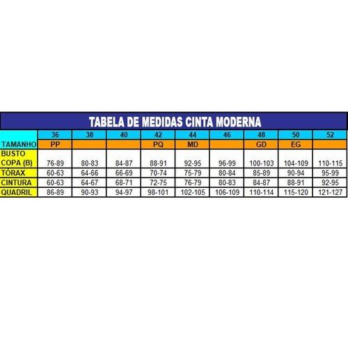 Mini Modelador Pós Parto Cirúrgico Microfibra Colchetes Cinta Moderna Ref: 6033