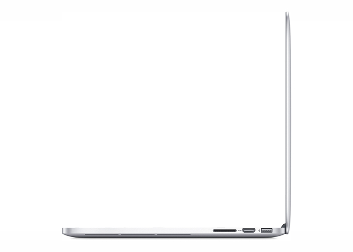 Notebook Apple MacBook Pro com tela Retina ME864 - Intel Core i5, 4 GB de memória, SSD 128 GB, Thunderbolt 2, HDMI, USB 3.0, Câmera FaceTime HD, OS X Mavericks, Tela Retina de 13.3""