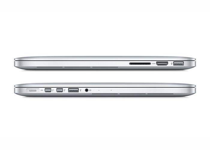 """Notebook Apple MacBook Pro com tela Retina ME864 - Intel Core i5, 4 GB de memória, SSD 128 GB, Thunderbolt 2, HDMI, USB 3.0, Câmera FaceTime HD, OS X Mavericks, Tela Retina de 13.3"""""""