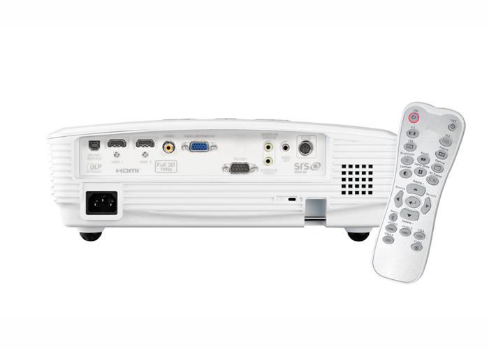 Projetor Optoma HD25e - Projeção Full HD 3D 1080p, Contraste de 20.000:1, Duas portas HDMI, Poderoso Auto-falantes de 10W