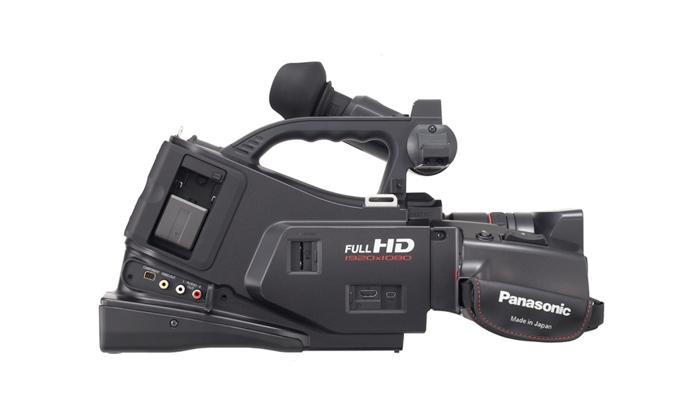 Filmadora Camcorder Panasonic AG AC7P - AVCHD,Vídeo Full HD, Zoom Óptico 23x - 16.8x,Tela de 2.7´