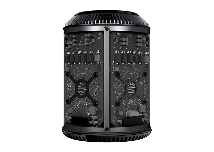 Apple Mac Pro ME253 - Intel Xeon E5 3.7GHz, Memória 12GB, SDD 256GB, Duas Placas de Vídeo com 2GB cada, 6x Portas Thunderbolt 2 *