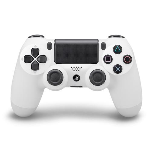 Controle Playstation DualShock 4 Branco - PS4 Slim e Pro