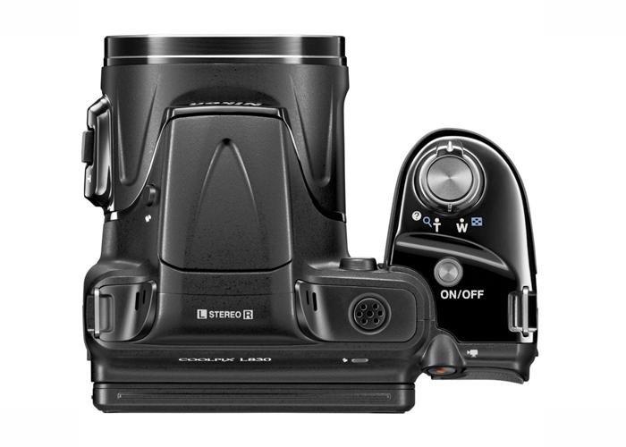 Câmera Digital Nikon Coolpix L830 - 16.0MP, Sensor CMOS,  Zoom Óptico 34x, Vídeo Full HD, Detecção de Movimento, Tela de 3
