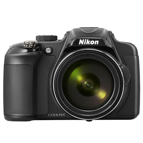 Câmera Digital Nikon Coolpix P600 - 16.1MP, Sensor CMOS,  Zoom Óptico 60x, Vídeos Full HD, 7 FPS, Wi-Fi, Tela Rotativa de 3