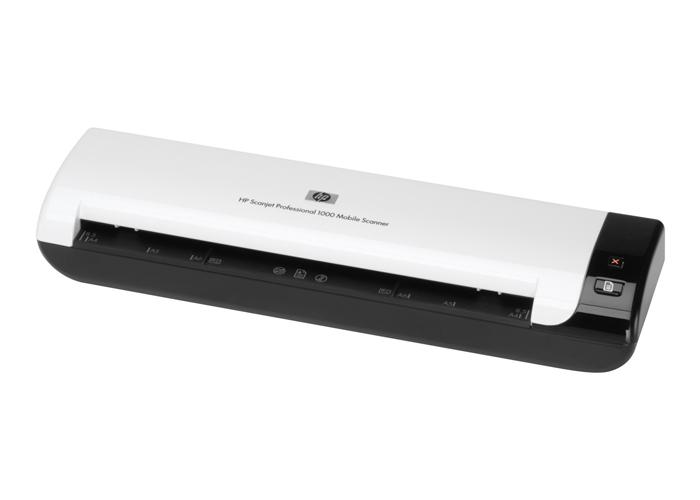 Scanner HP Scanjet Professional 1000 - Resolução até 600dpi, USB