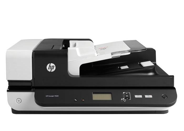 Scanner HP Scanjet Enterprise Flow 7500 - Resolução até 600dpi, Digitalização Colorida ADF, USB