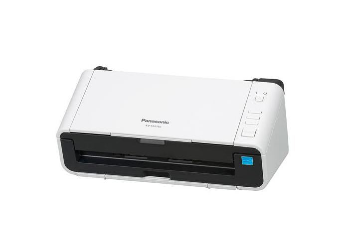 Scanner Panasonic KV-S1015C-B - Resolução até 600dpi, Digitalização Colorida e Frente/Verso, USB