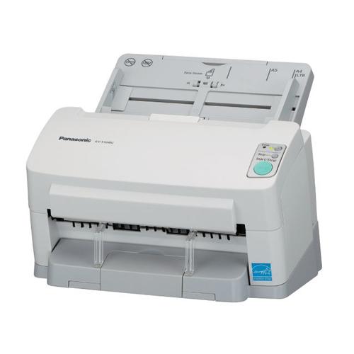 Scanner Panasonic KV-S1046C-B - Resolução até 600dpi, Digitalização Colorida e Frente/Verso, USB