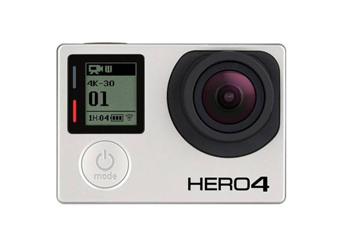 Câmera Filmadora GoPro Hero 4 Black Edition - Recursos de vídeo 4k, Resolução 1080p120, 12MP, SuperView, Wi-Fi, Bluetooth, Prova d'água até 40m *