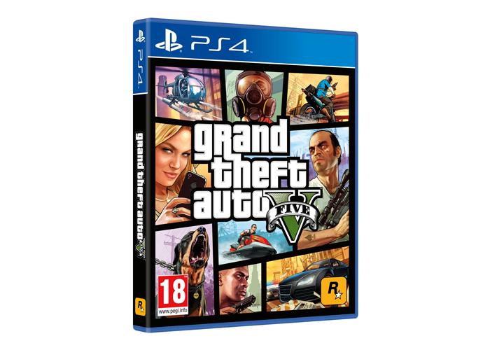 Jogo Grand Theft Auto - GTA V - PS4