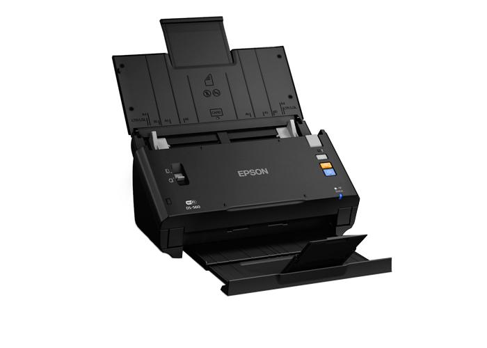 Scanner Epson Workforce DS-560 - Wi-fi, Resolução até 600dpi, Velocidade 26ppm