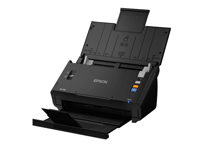 Scanner Epson Workforce DS-510 - Resolução até 600dpi, Velocidade 26ppm