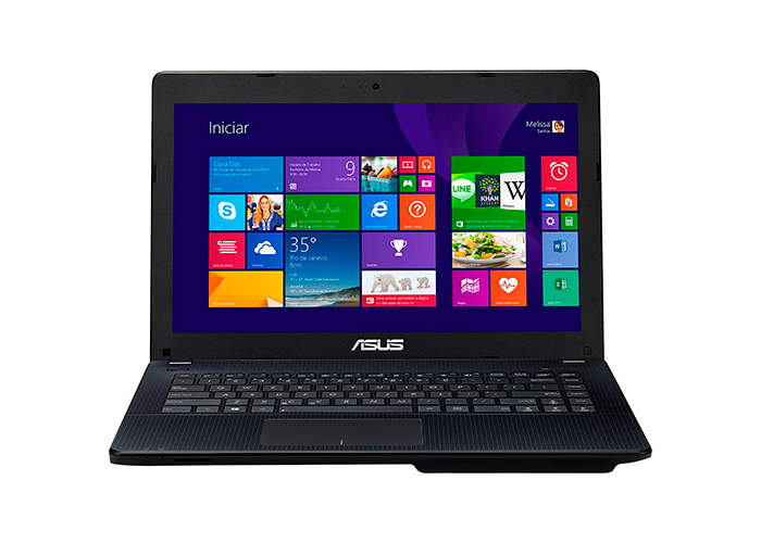 Notebook Asus X451 Intel Dual Core, Memória de 4GB, HD 500GB, HDMI, Tela de 14