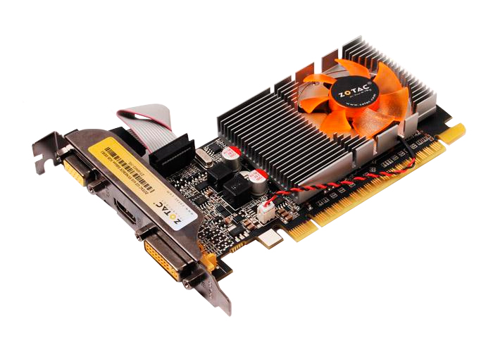 Placa de Vídeo Geforce GT610 - Mem. 1GB GDDR-3, Processador Cuda Cores 48, Clock 810 MHz, Shader Clock 1620 MHz, DVI, HDMI, VGA, Low Profile *