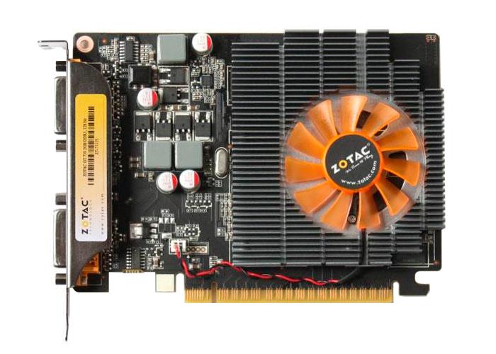 Placa de Vídeo Geforce GT730 - Mem. 2GB GDDR-3, Processador Cuda Dual 96, Clock 1800 MHz, DVI, MINI - HDMI