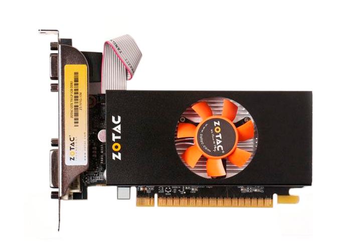 Placa de Vídeo Geforce GTX750 - Mem. 1GB GDDR-5, Processador Cuda Cores 512, Clock 5000 MHz, Low Profile,  HDMI, VGA, DVI