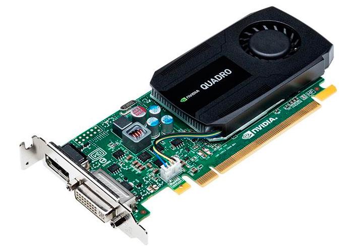 Placa de Vídeo Nvidia Quadro K420 - Mém. 1GB DDR3, Processador Cuda Core 192, DVI, DP