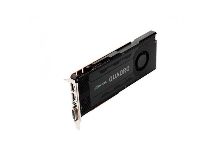 Placa de Vídeo Nvidia Quadro K4000 - Mém. 3GB DDR5, Processador Cuda Core 768, DVI, DP
