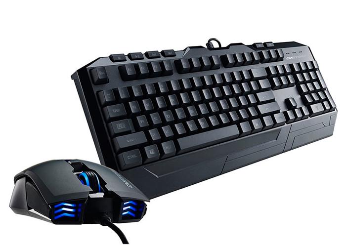 Kit Teclado e Mouse Cooler Master Storm Devastator II - USB, Backlight Azul, 2000DPI *