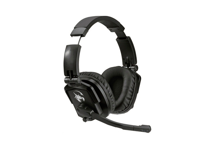 Headset GX Genius Lychas HS-G550 - Fones giratórios, Neodímio 50mm, Cabo 2,5m