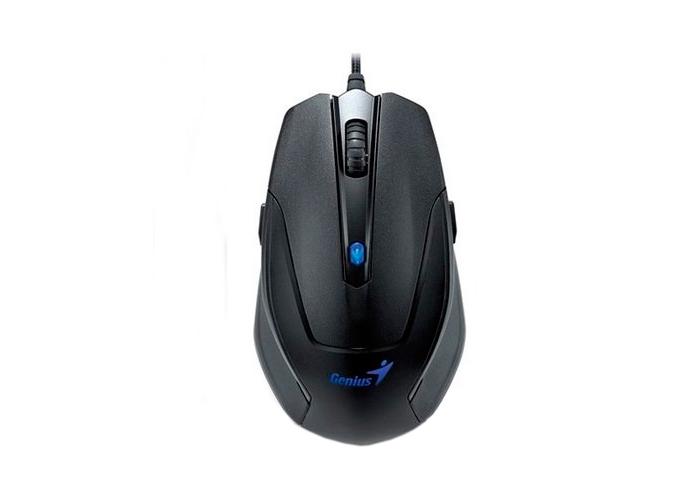 Kit Teclado e Mouse GX Gaming Genius KM-G230 - USB, Backligt Azul, Óptico, 2000DPI
