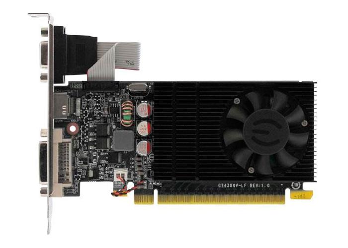 Placa de Vídeo Geforce GT730 EVGA - Mem. 2GB GDDR-3, Processador Cuda Cores 16, Clock 1400 MHz, HDMI, VGA, DVI, Low Profile