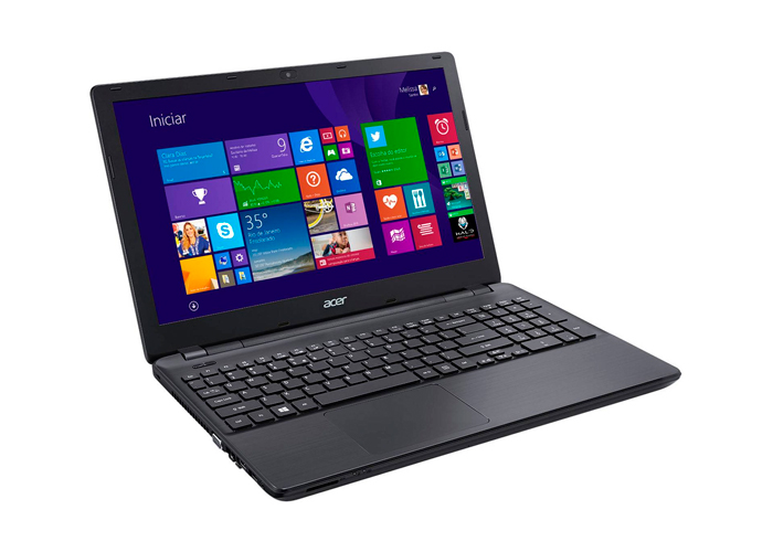 Notebook Acer E5-571G 52B7 - Intel i5 Core, Memória de 4GB, HD 1TB, Placa de vídeo Geforce 820M 2GB, Windows 8.1, Tela 15.6