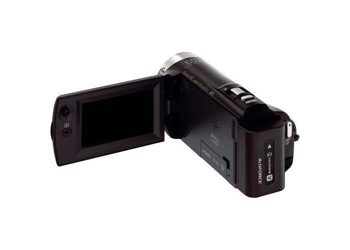 Filmadora Sony CX330 - AVCHD, Sensor CMOS Exmor R 1/5.8, Zoom Óptico 24x, Vídeo Full HD, Tela 2.7