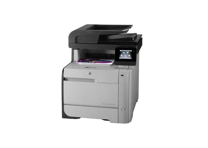 Impressora Multifuncional Laserjet Color HP M476NW - Laser, Memória 128 MB, ePrint, Wi-fi, Copiadora, Scanner, Fax