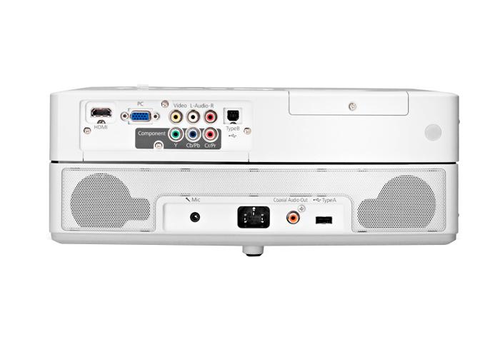 Projetor Epson PowerLite Presenter HD - 3LCD, Lumens 2500, Contraste 2000, HDMI, USB, VGA RGB, Lâmpadas Economicas