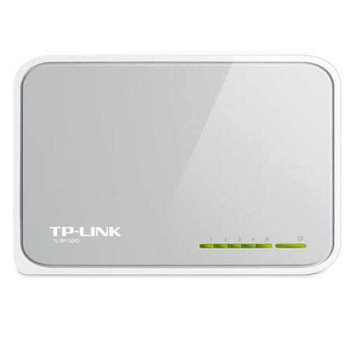 Switch TP-Link TL-SF1005D  -  100Mbps, Verde Ethernet , 5 Portas Ethernet *