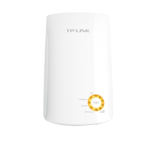 Extensor Powerline TP-Link TL-WA750RE - Wifi 150Mbps, 1 Portas Ethernet