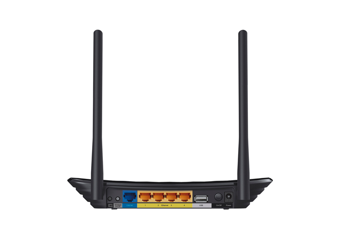 Roteador Wireless TP-Link N600 TL-WDR3500 - 2,4 GHz, Dual Band, 600Mbps, USB, 2 Antenas, 4 Portas Ethernet *